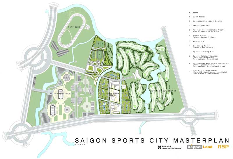ban do du an saigon sports city quan 2