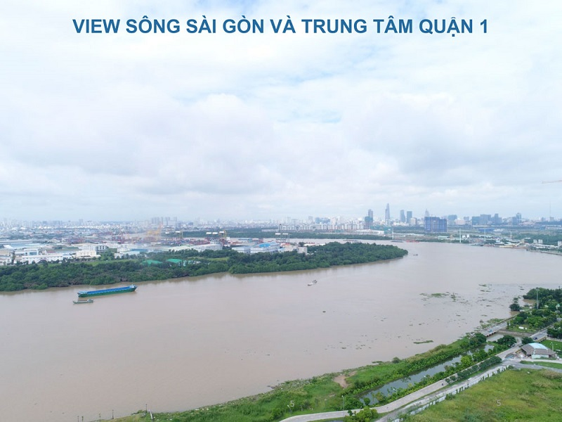 one verandah co tam nhin view song thoang mat