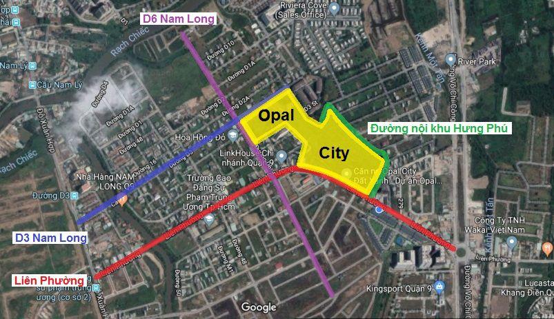 giao thong tai opal city